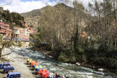 OURIKA RIVER, TIME FOR LUNCH