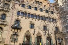 ARCHITECTURE CREATED BY A. GAUDI, PASSEIG DE GRACIA