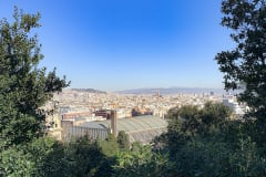 THE VIEW OF BARCELONA