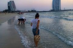 ENJOYING SUNSET BEACH