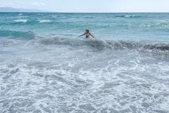 Cagliari beach